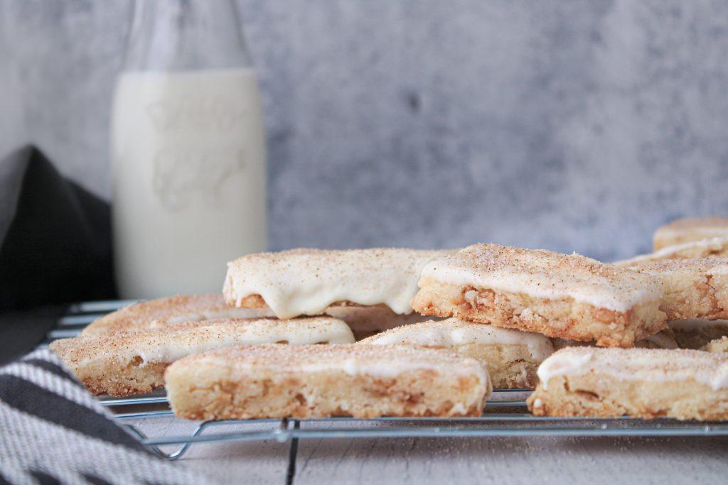Churro Toffee Shortbread