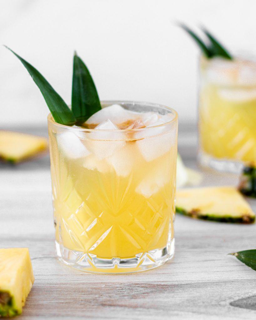 That Skinny Beach: a skinny tiki cocktail