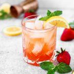Strawberry Bourbon Smash